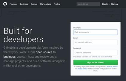 GitHub community for developers